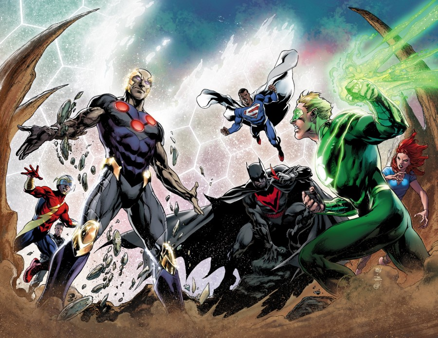 Convergence #1 DC Comics Spoilers teaser