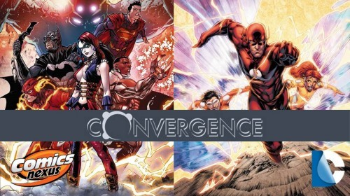 Convergence #1 & Speed Force #1 banner
