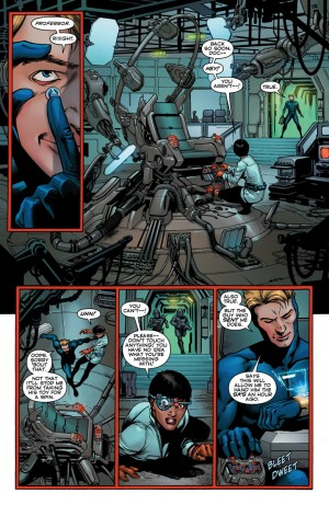 Convergence Booster Gold #1 Spoilers Preview 4