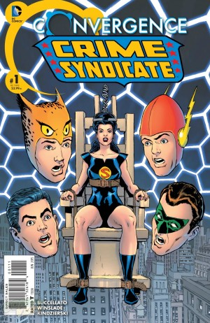 Convergence Crime Syndicate #1 DC One Million Spoilers Preview 1