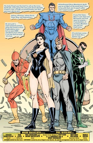 Convergence Crime Syndicate #1 DC One Million Spoilers Preview 3
