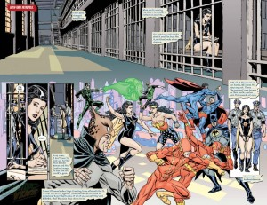 Convergence Crime Syndicate #1 DC One Million Spoilers Preview 4