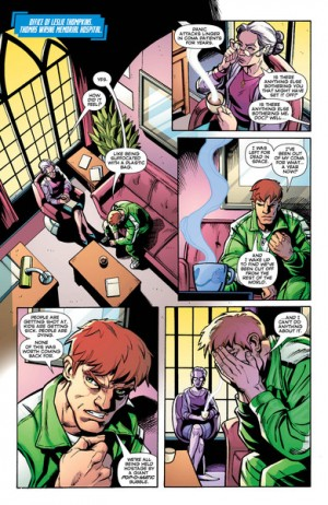 Convergence Green Lantern Corps #1 Spoilers Preview 6