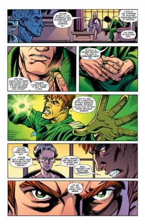 Convergence Green Lantern Corps #1 Spoilers Preview 7