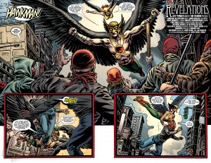 Convergence Hawkman #1 Shadow War Spoilers Preview 4