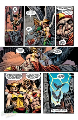Convergence Hawkman #1 Shadow War Spoilers Preview 6