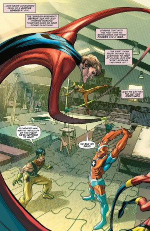 Convergence Justice League America #1 spoilers preview 5