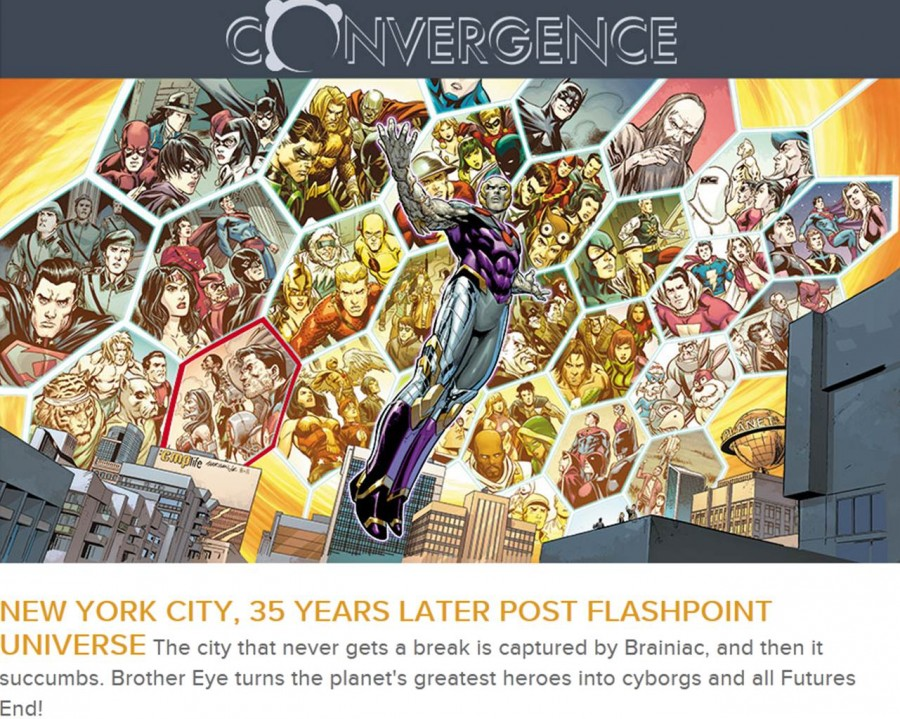 Convergence and the New 52 Futures End city