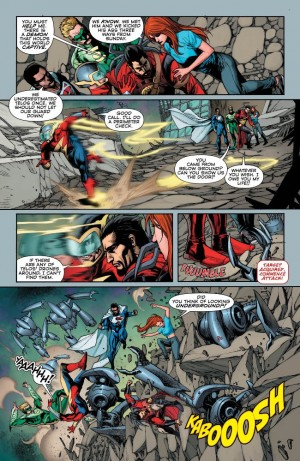DC Comics Convergence #3 Spoilers Preview 6
