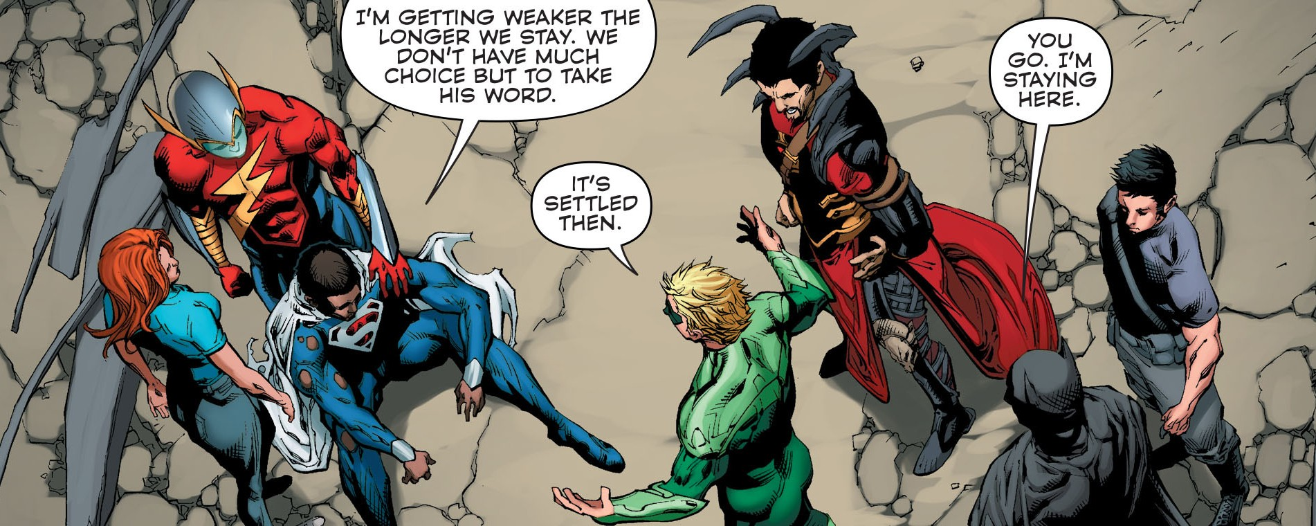 DC Comics Convergence #3 Spoilers Review 4