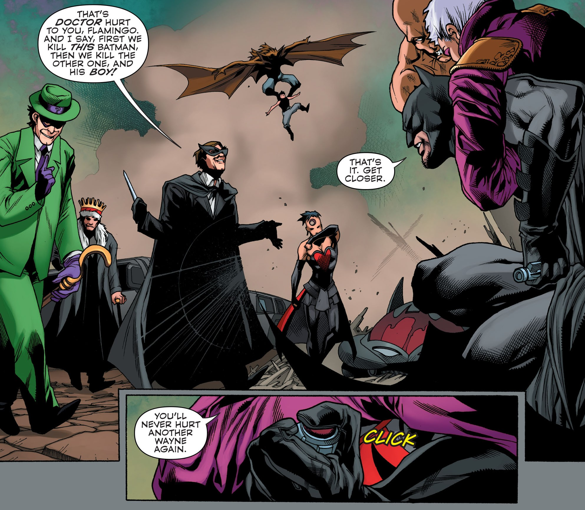 DC Comics Convergence #3 Spoilers Review 9