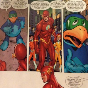 DC Comics Convergence Speed Force #1 Spoilers 6