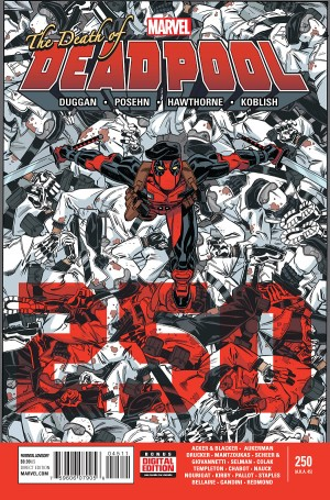 Deadpool #45 or #250 Cover Secret Wars Spoilers 1