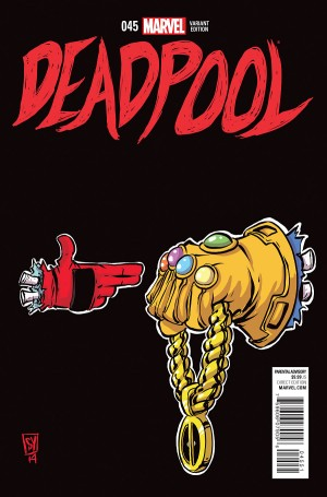 Deadpool #45 or #250 Cover Secret Wars Spoilers 4