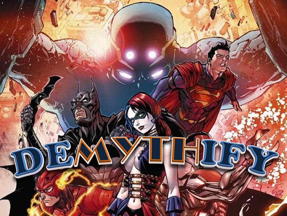 Demythify Convergence #1 connection to New 52 Futures End & Earth 2 World's End