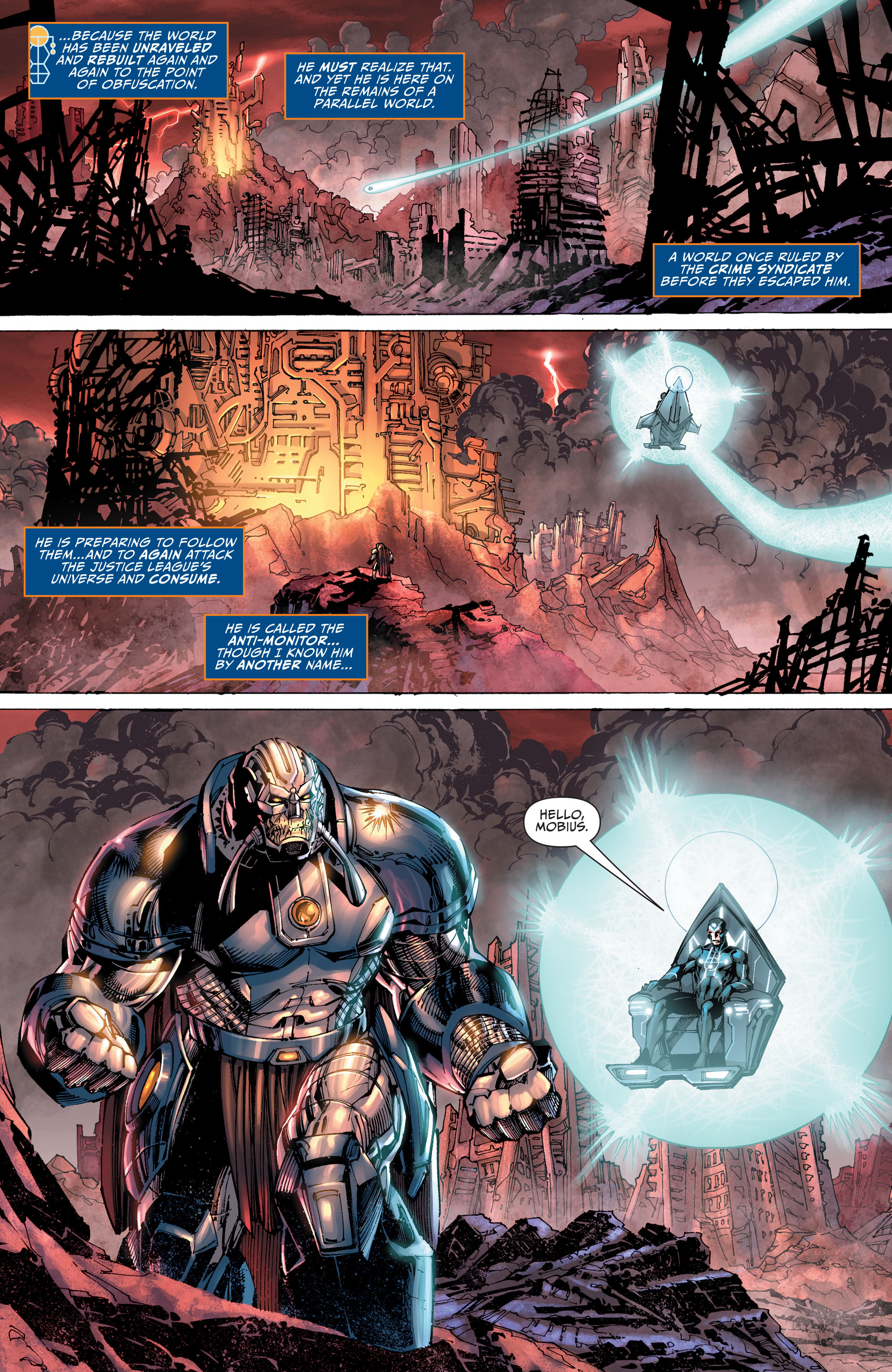 ... Justice League #40 Spoilers Darkseid War 1