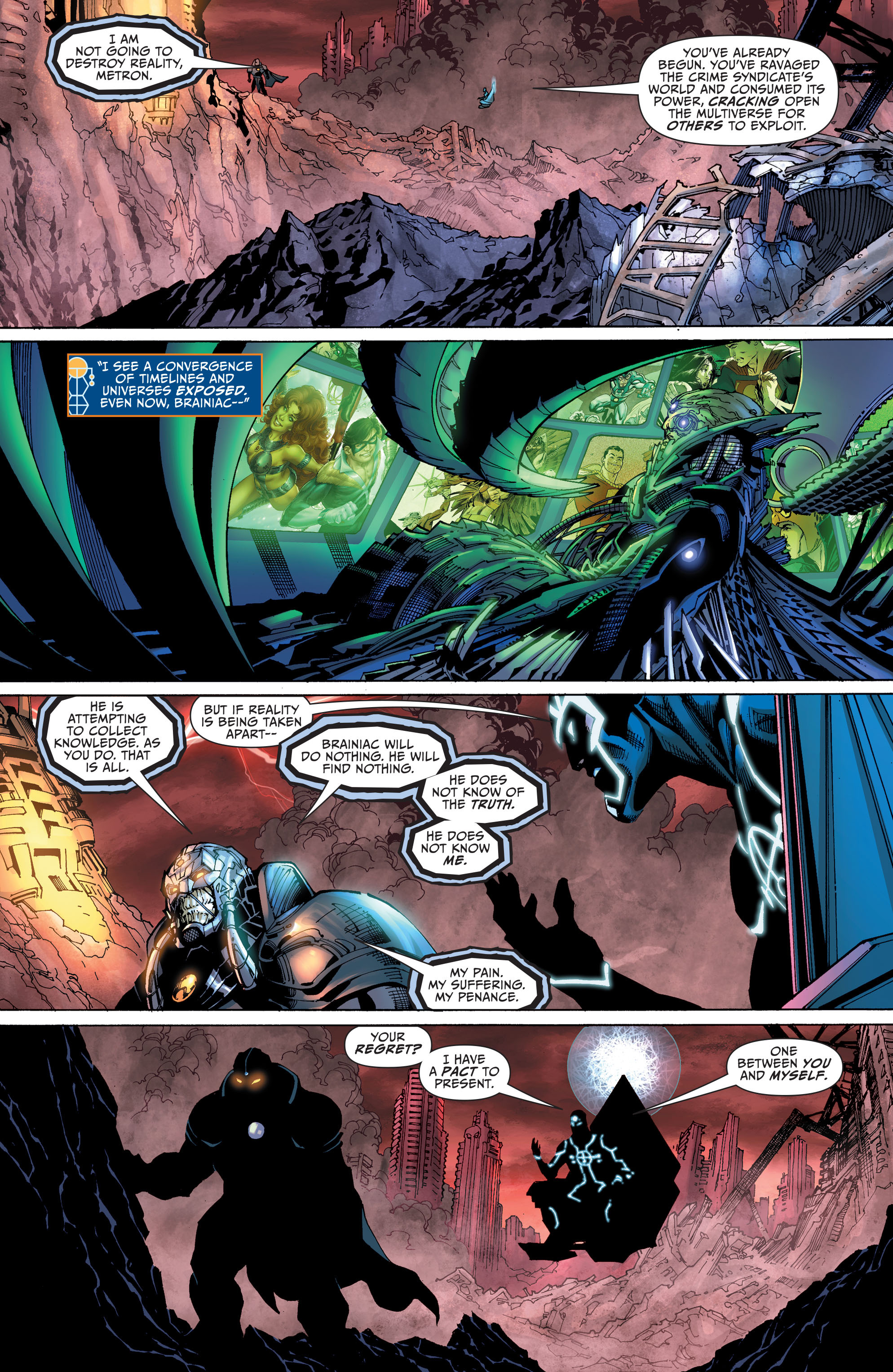 ... Justice League #40 Spoilers Darkseid War 4