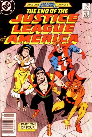 Justice League of America #258 DC Comics Legends 1980's