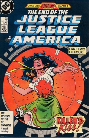 Justice League of America #259 DC Comics Legends 1980's