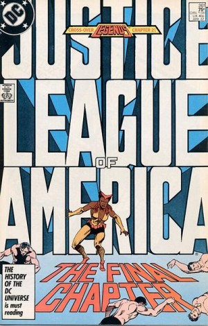 Justice League of America #261 DC Comics Legends 1980's