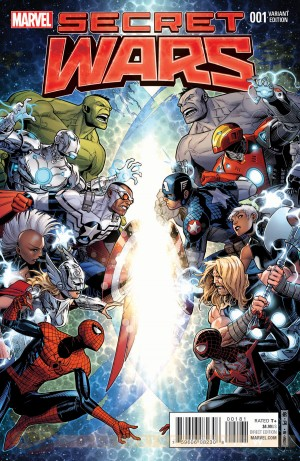 Marvel Secret Wars 2015 #1 variant 1