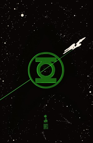 Star Trek Green Lantern The Spectrum War 1A