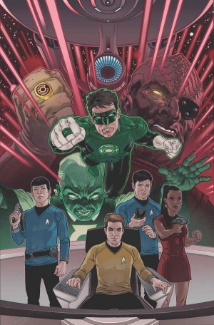 Star Trek Green Lantern The Spectrum War 1B