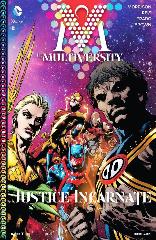 The Multiversity #2 cover reveal preview spoilers 1 Justice Incarnate