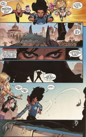 A-FORCE #1 pg. 9