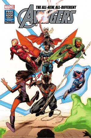 All-New All-Different Avengers FCBD review spoilers
