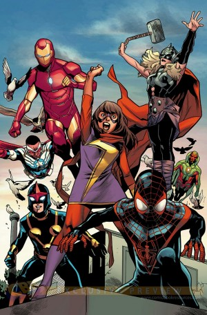 All-New All-Different Avengers ready for action