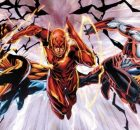 Brett Booth and Norm Rapmund The Flashes DC Comics banner