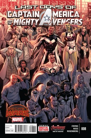 CAPTAIN AMERICA and the MIGHTY AVENGERS 8 review spoilers 1