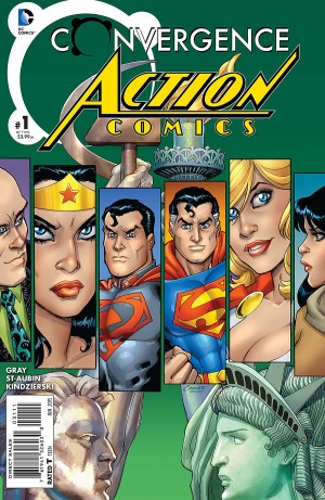 CONVERGENCE - ACTION COMICS 1