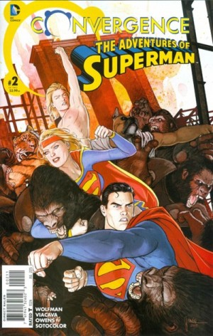 CONVERGENCE - ADVENTURES of SUPERMAN 2