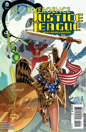 CONVERGENCE - JUSTICE LEAGUE INTERNATIONAL 2