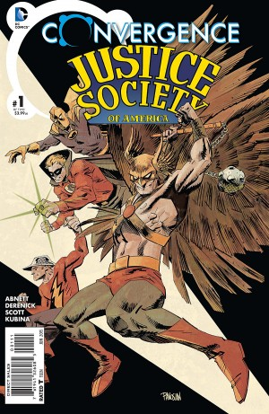 CONVERGENCE - JUSTICE SOCIETY of AMERICA 1