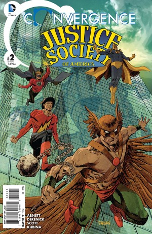 CONVERGENCE - JUSTICE SOCIETY of AMERICA 2