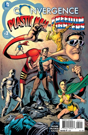 CONVERGENCE - PLASTIC MAN and the FREEDOM FIGHTERS 2