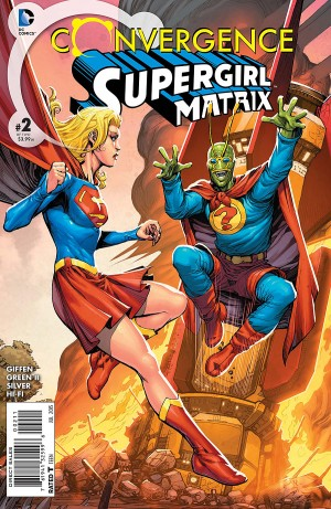 CONVERGENCE - SUPERGIRL MATRIX 2