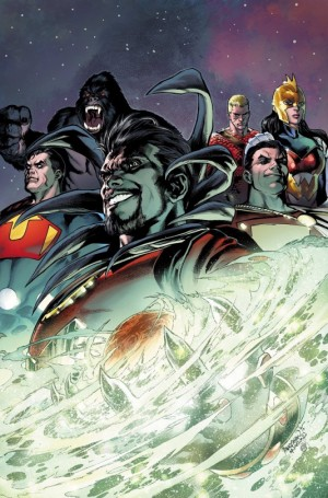 Convergence #6 cover