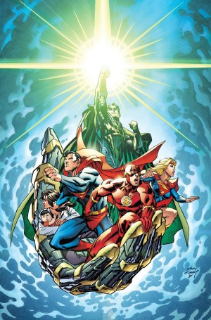 Convergence #8 cover