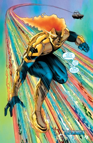 Convergence Booster Gold #2 Spoilers Last Page Cliffhanger