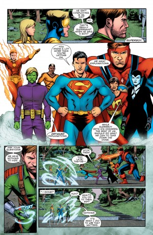 Convergence Booster Gold #2 spoilers 2