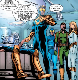 Convergence Booster Gold #2 spoilers 5
