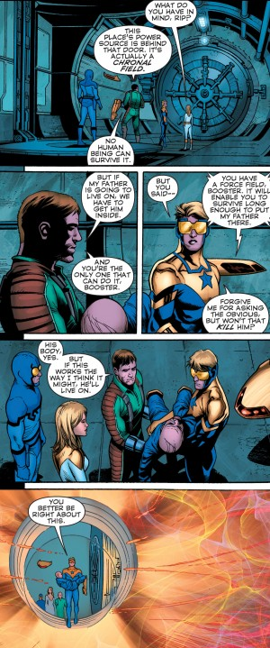Convergence Booster Gold #2 spoilers 6