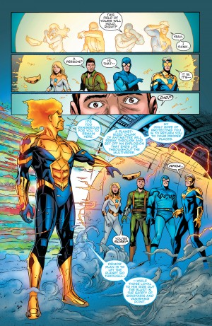 Convergence Booster Gold #2 spoilers 7