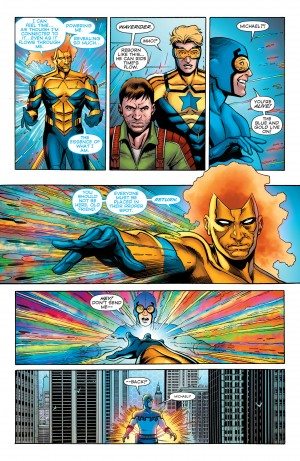Convergence Booster Gold #2 spoilers 8