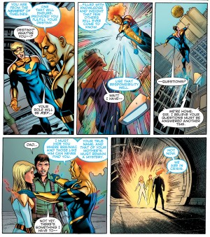 Convergence Booster Gold #2 spoilers 9