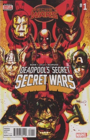 DEADPOOL'S SECRET SECRET WARS #1 review spoilers 1